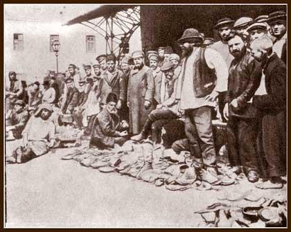 Место сбора потерянной обувки, слетевших картузов да и просто отдыха утомившихся кулачников.