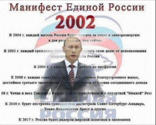 проекты партии единая россия: