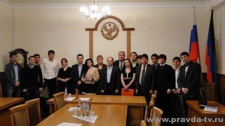 С молодежным Парламентом Дагестана