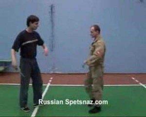 Бесконтактный бой. Защита от боковых ударов ножа. Тренинг.