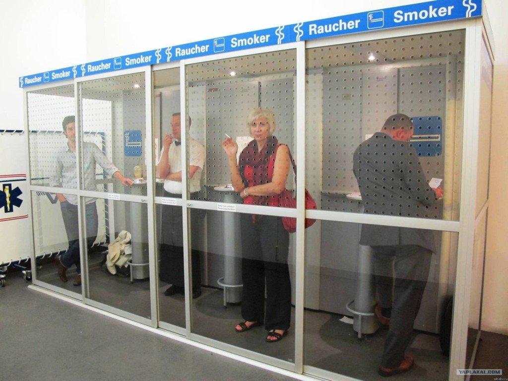 Курение в общественных местах 2012