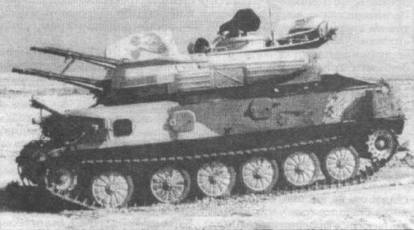 Иракская ЗСУ-23-4М, поврежденная в ходе операции «Буря в пустыне»