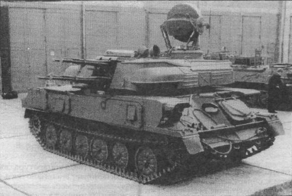 ЗСУ-23-4М армии ГДР