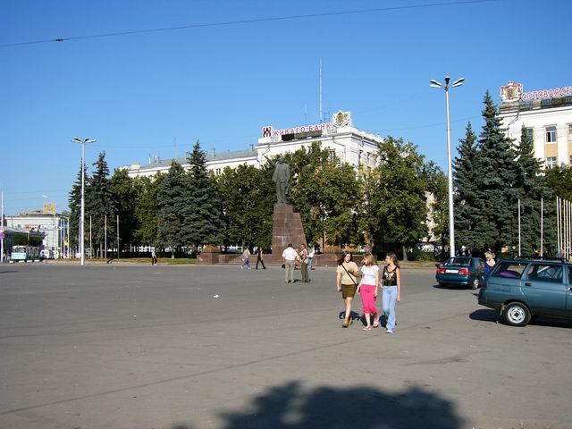 Рязань, площадь Ленина.