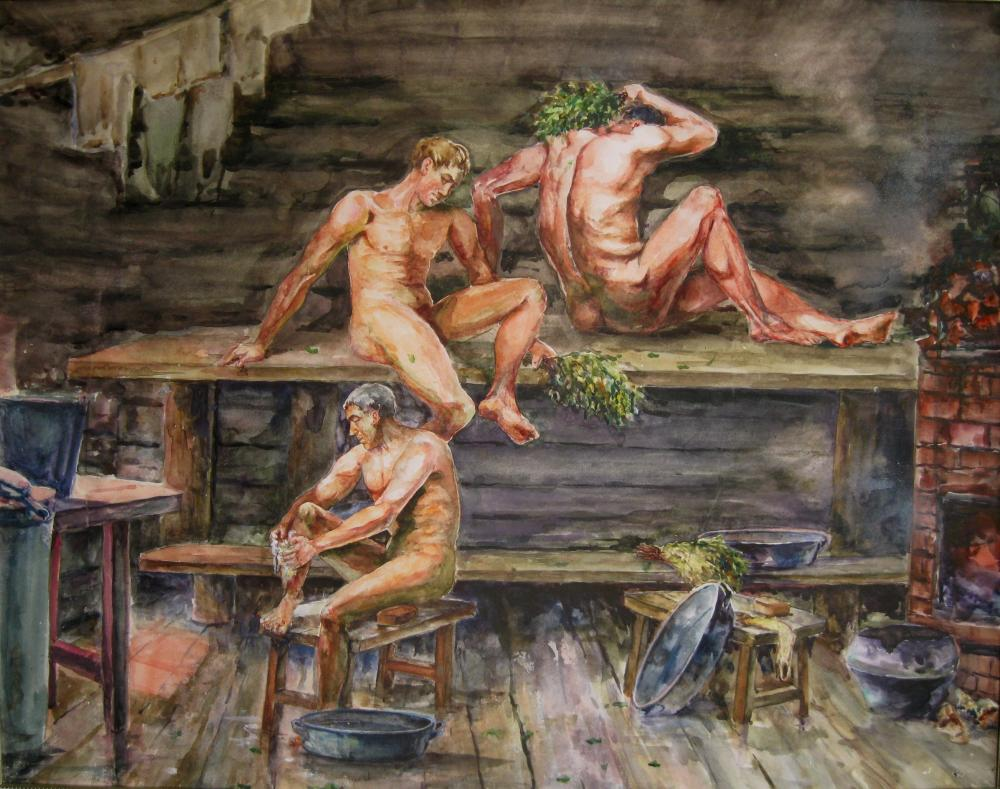 Русские баби в бане фото 286-372