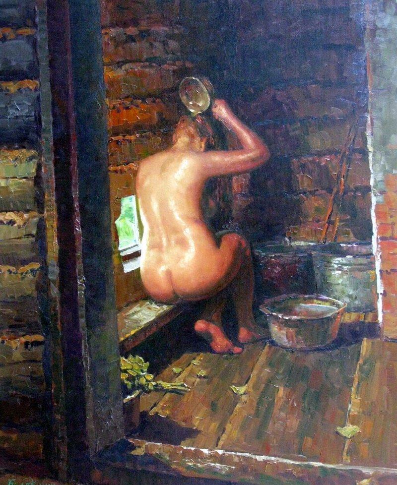 Бaбы в русской бане