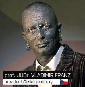 Знакомьтесь, Владимир Франц - 90% тела которого покрыто татуировками.