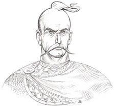 Князь Святослав (942-972).