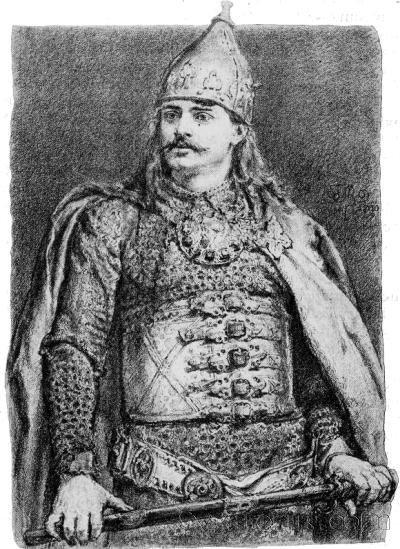 Болеслав Кривоусый (1085-1138), польский христианский король, активно боровшийся с языческими славянскими пиратами Балтики.