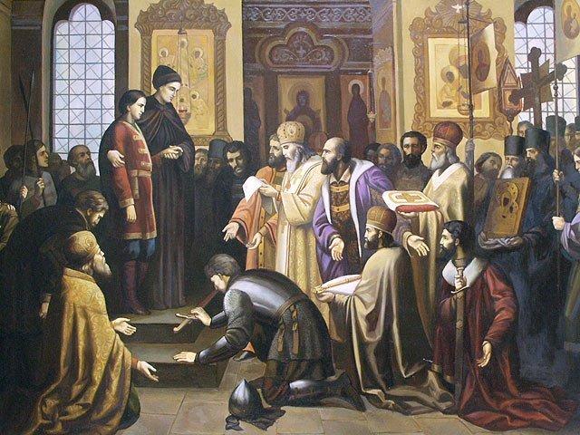 Оклеветанный царь Иван Грозный сына своего не убивал Земский собор 1613 года