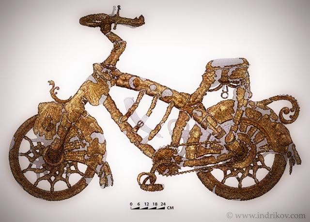 Средневековый Велосипед из Шато-Гайар (6)