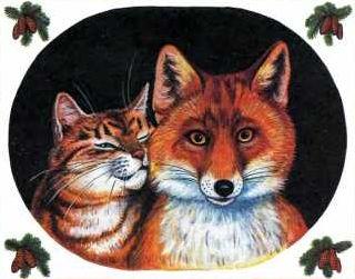 Как Лиса сделала из Кота Тигра. Вера в мужа (2)