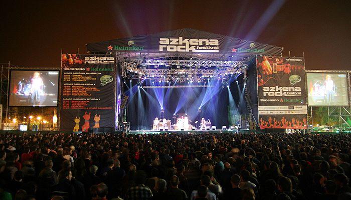 рок фестиваль Витория
