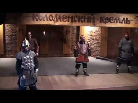 Так бились русские витязи на мечах
