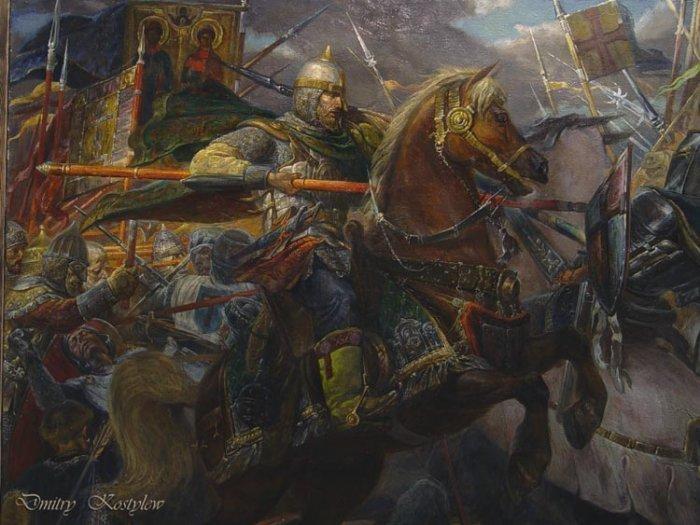 """Костылев Дмитрий, """"Александр Невский, Ледовое Побоище"""", фрагмент, 2005 год"""