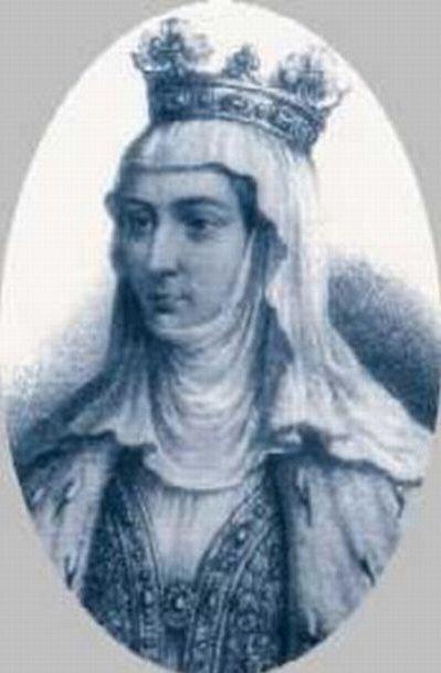Король Людовик Сварливый задушил свою жену Маргариту Бургундскую, придавив матрасом
