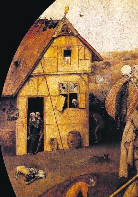Развалюшка. Низок был уровень жизни европейца Средних веков