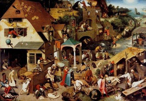 Друг у друга на головах. Картины Питера Брейгеля (1525—1569) наглядно демонстрируют, что уже 500 лет назад Европа была перенаселена