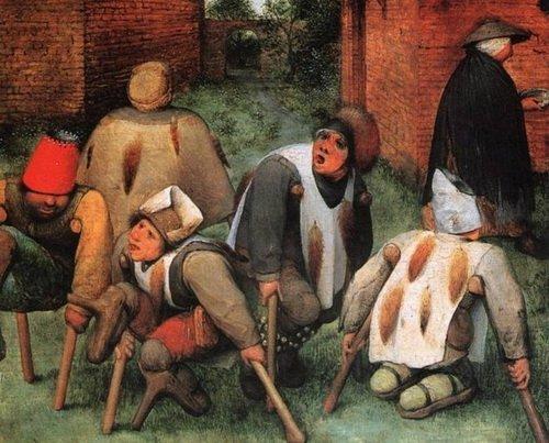 Нищие. Еще одна картина Брейгеля о «прекрасной европейской цивилизации»
