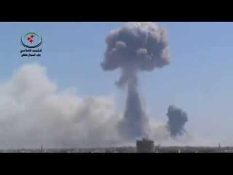 По Сирии нанесены ядерные удары