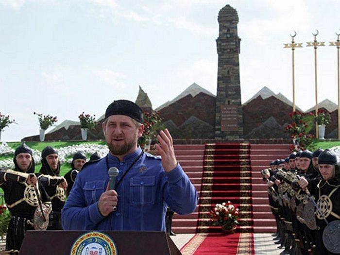Празднование Дня чеченской женщины