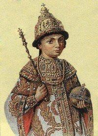 Петр Великий в детстве