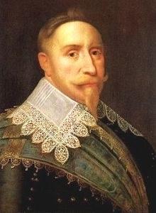 Король Швеции Густав II Адольф (1594-1632)