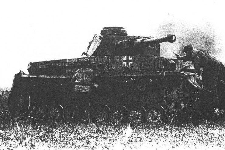 Тевтонский крест на технике третьего рейха
