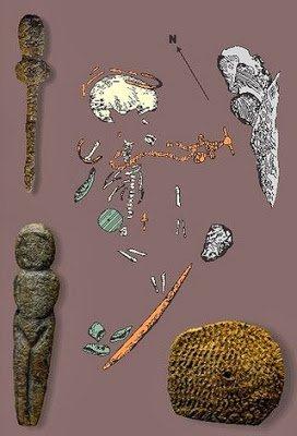 Сибирский мальчик был похоронен с многочисленными артефактами, в том числе с фигуркой Венеры.