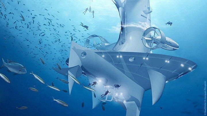 как видит подводная лодка на глубине