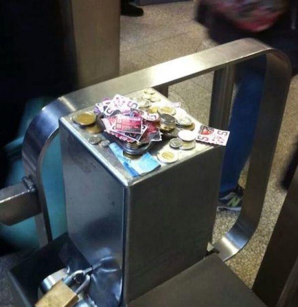 Добро в метро