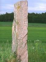 Рунический камень из Швеции
