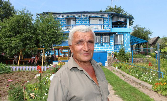 Белорусский пенсионер построил «аквапарк»
