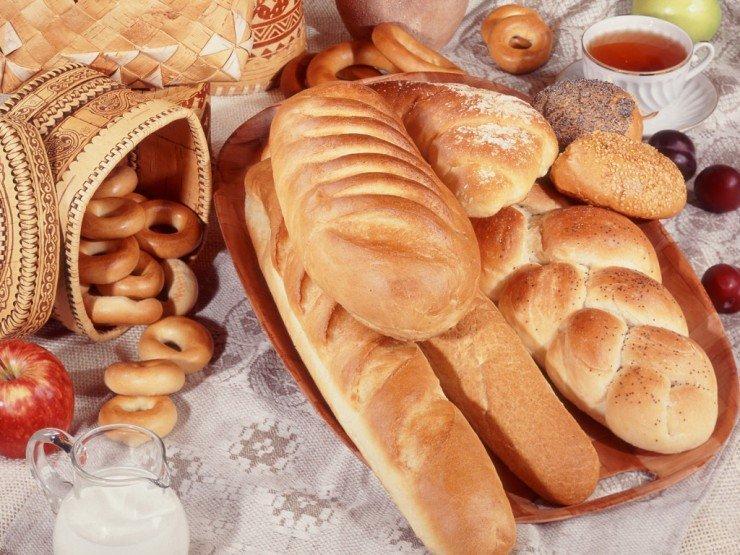 Disk Brot und Broetchen