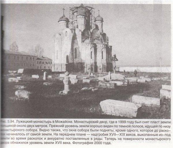 Рис. Лужецкий монастырь.