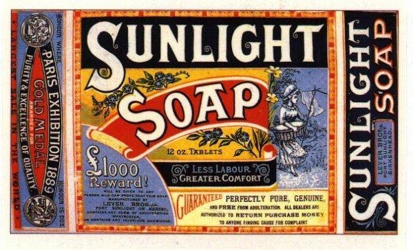 Фирма Unilever производила два типа продуков — мыло и маргарин.