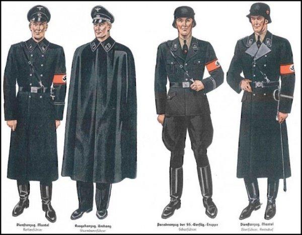 Hugo Boss начинал с шитья формы для гестаповцев.
