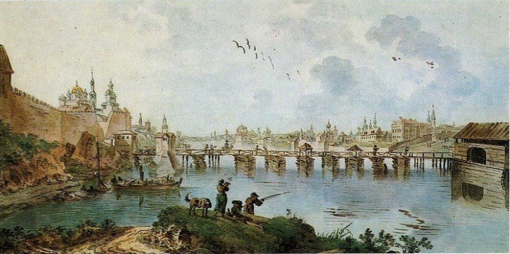 Великий Новгород в 1780-е годы. Бальтазар Траверс