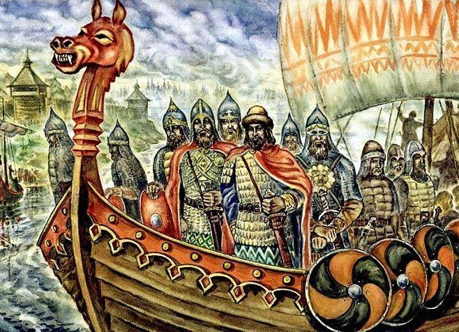 Русские князья – викинги?