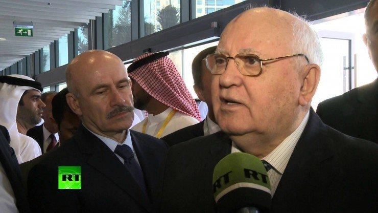 Горбачев: В Киеве нужно грести бульдозерами, чтобы убрать консультантов из США и ЕС