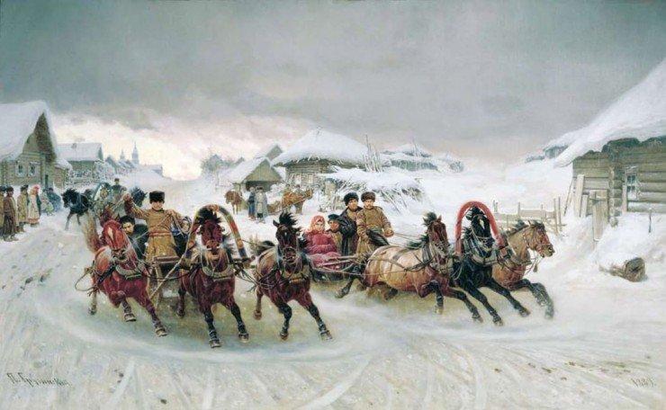 Грузинский. П.Н. Масленица. 1898 г.