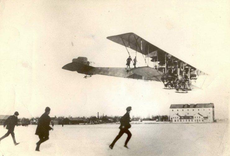 Многомоторный самолет «Илья Муромец»