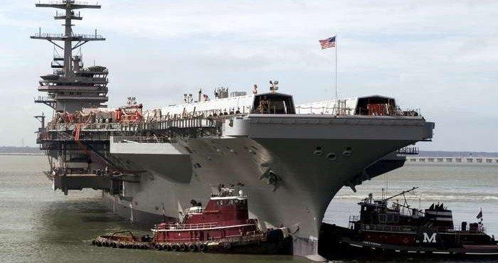 Армада США направляется в Чёрное море