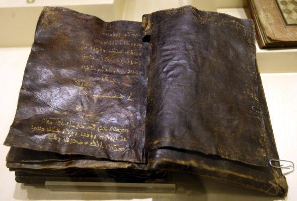 ETNOGRAFYA MUZESI'NE TESLIM EDILEN EL YAZMASI INCIL