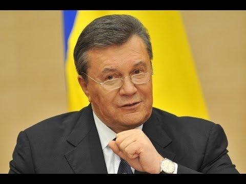 Виктор Янукович выступает с важным обращением в Ростове-на-Дону (11 марта 2014)