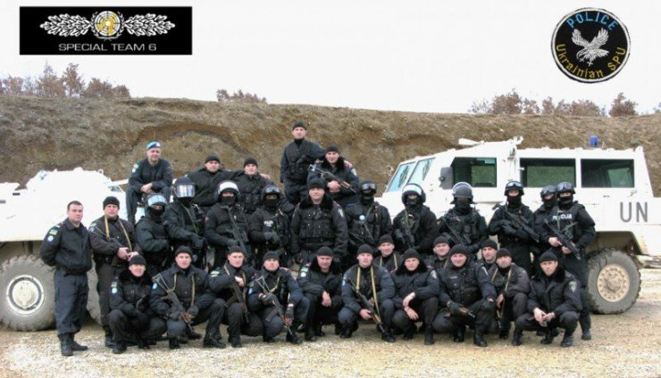 «Беркут» и UN SPECIAL TEAM SIX в Косово