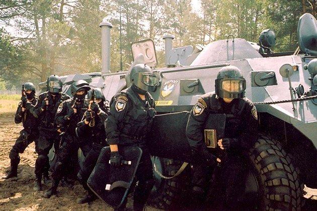 Рота специального назначения, Киев, 90-е