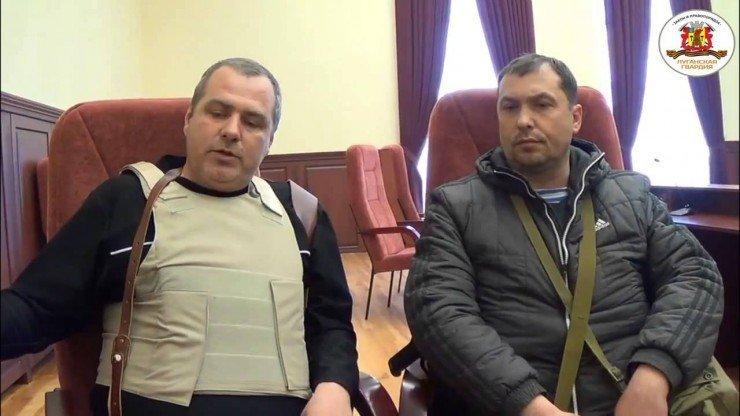 Интервью с активистами из здания СБУ в Луганске 07.04.2014