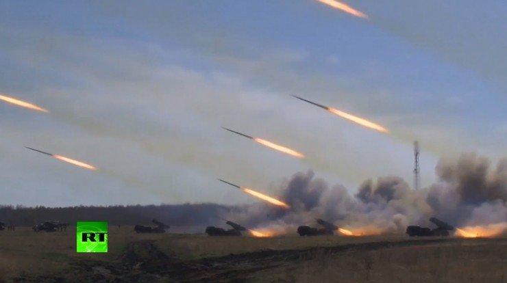 Что может Российская армия – плановая тренировка ВС РФ перед 9 мая.