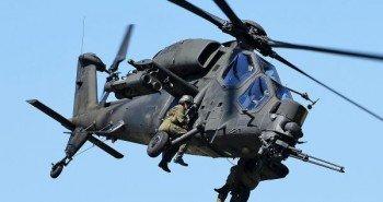 Агуста А129 «Мангуст». Первый ударный вертолёт, разработанный и производящийся целиком в Западной Европе. В 1993 году вертолёты «Мангуст» принимали участие в операциях по поддержке миротворцев ООН в Сомали. На вооружении ВВС Италии находится 60 таких вертолетов.